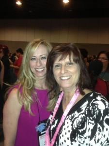 With Jaci Burton at the Carina Press party