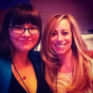With Victoria Dahl