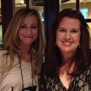 With Beth Kery (photo courtesy of USA Today contributor Mary G)